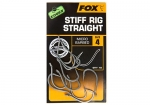 FOX Edges Stiff Rig Straight Hook