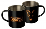 FOX Stainless Black Mug XL 400ml