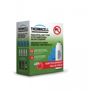 Thermacell Nachfüllpackung 48h R-4