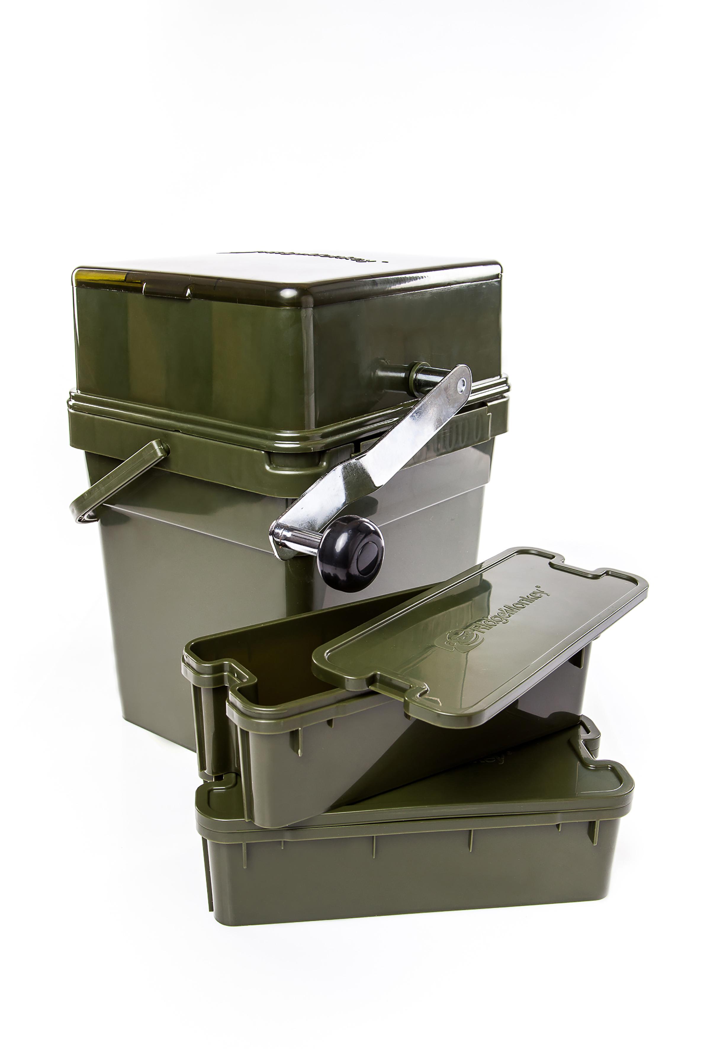 Crusher RidgeMonkey Advanced Boilie Crusher Full Kit Eimer