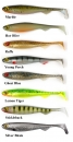 FOX Rage Slick Shad - Standard Colours