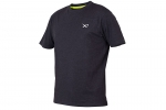 Matrix Minimal Black Marl T-Shirt