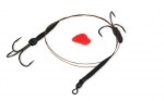 FOX Rage Predator Twin Treble Trace 50cm